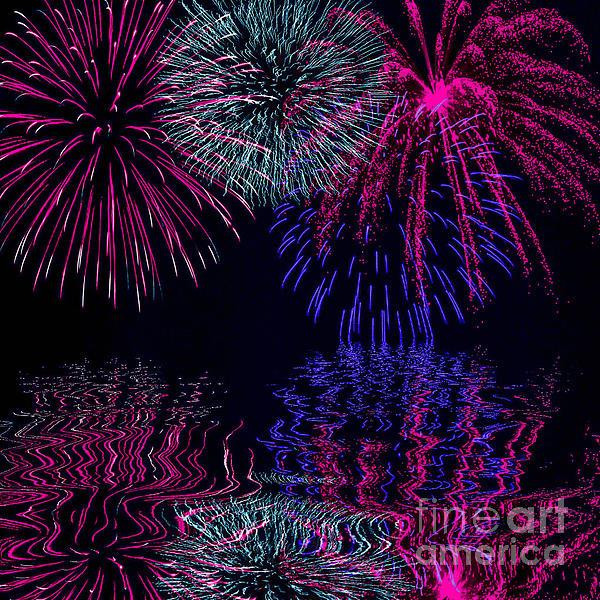 Naomi Burgess - Fireworks Over Open Water 1