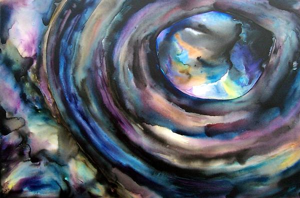 Fish Eye Print by Christy  Freeman