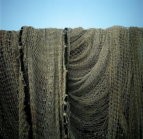 Fishing Net Print by Bernard Jaubert