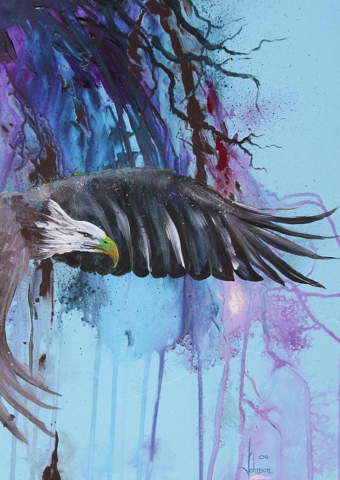 Flying High Print by Larry  Johnson