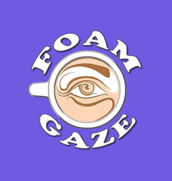 E J Klepinger - Foam Gazing Logo