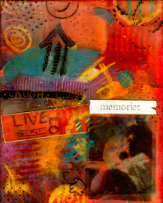 Fond Memories Print by Angela L Walker