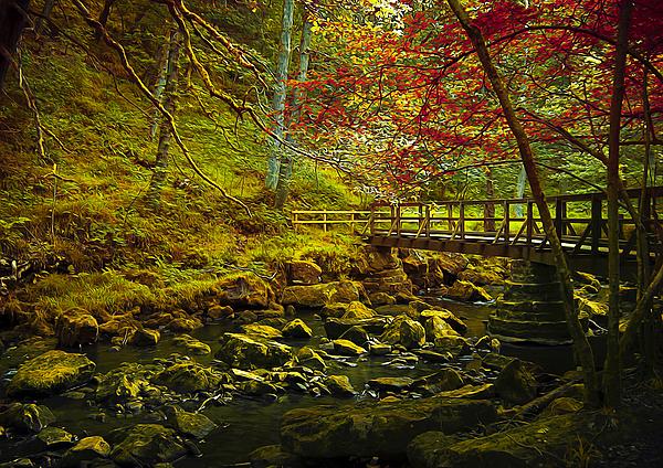 Forbidden Bridge  Print by Svetlana Sewell