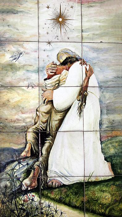 Forgiven Print by Munir Alawi