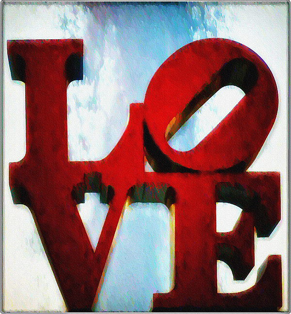 Fountain Of Love Print by Bill Cannon