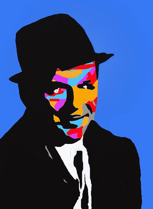 Frank Feeling Blue Print by Robert Margetts