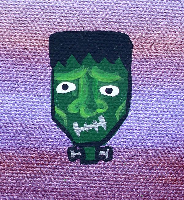 Frankenstein Print by Jera Sky