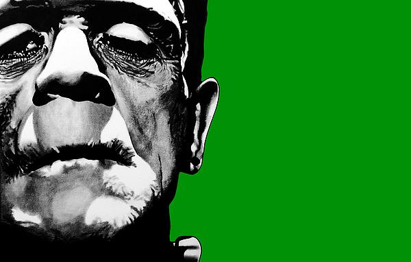 Frankenstein's Monster Signed Prints Available At Laartwork.com Coupon Code Kodak Print by Leon Jimenez