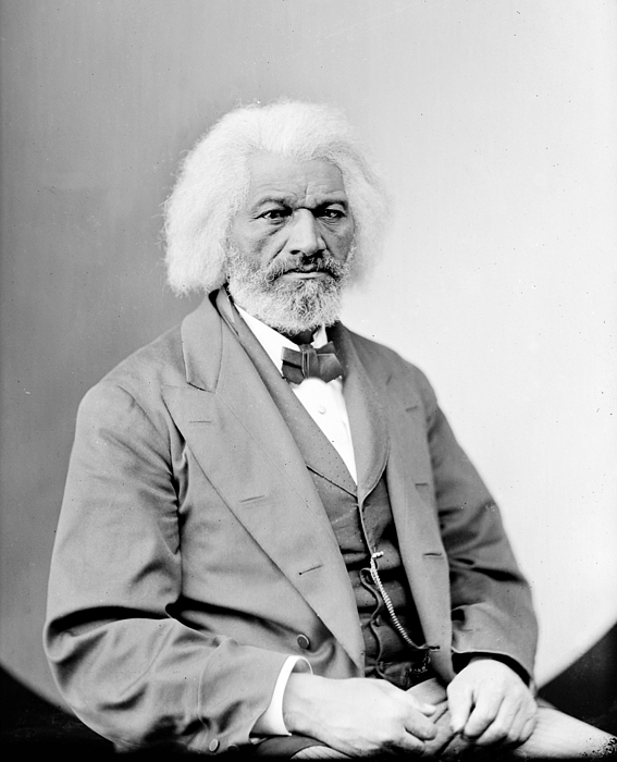 Frederick Douglass 1818-1895, African Print by Everett