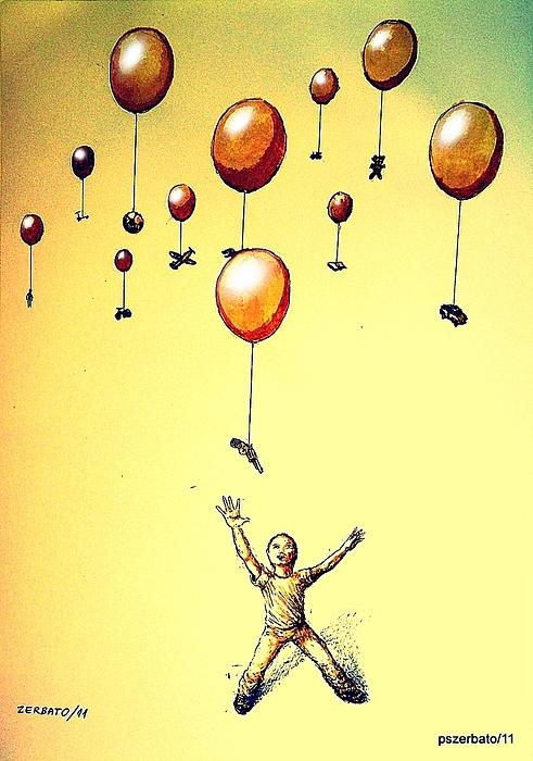Free Will Print by Paulo Zerbato