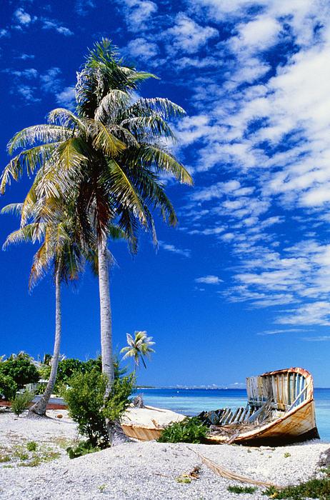 French Polynesia, Beach Print by Peter Stone - Printscapes
