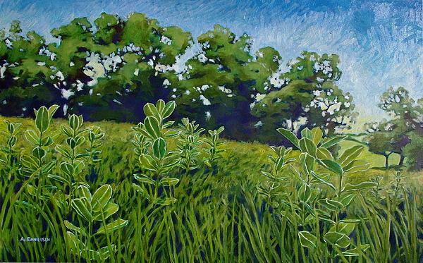 Fresh Field Print by Andrew Danielsen