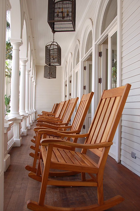 Front Porch Print by Kelly Wade
