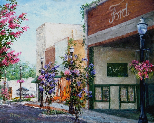 Front Street Print by Virginia Potter