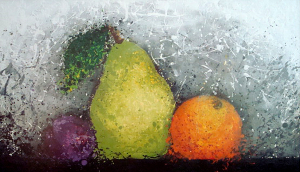 Fruit Print by Paula Weber