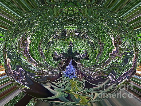 Jim Fitzpatrick - Garden Abstract