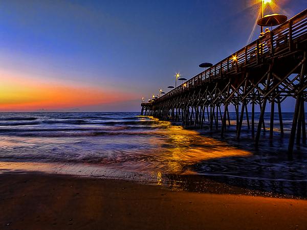 Garden City Beach Pier By Terry Shoemaker