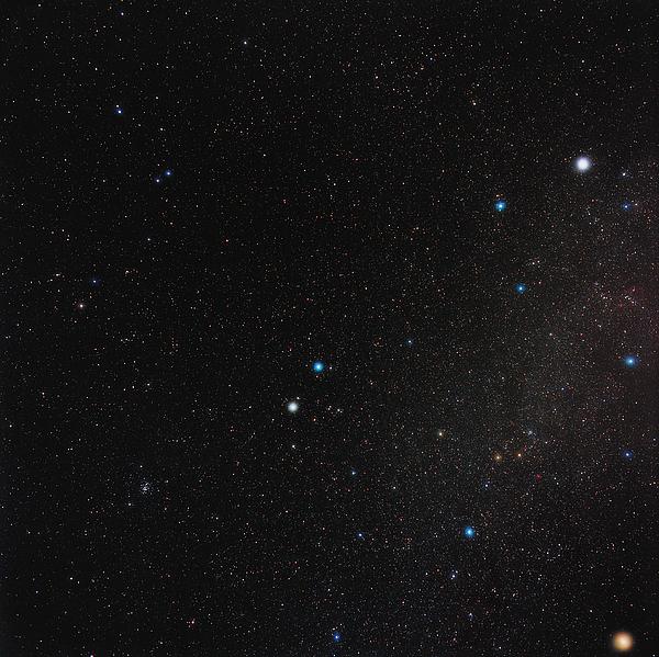 Gemini Constellation Print by Eckhard Slawik