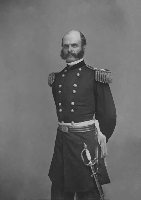 General Ambrose Everett Burnside Print by War Is Hell Store