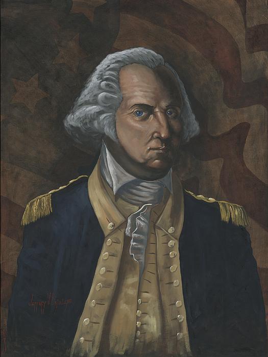 General George Washington Print by Jeff Brimley