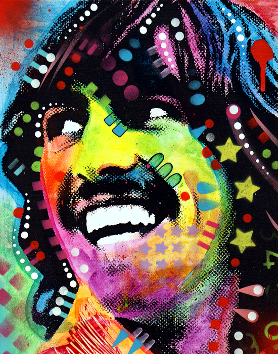 George Harrison Print by Dean Russo