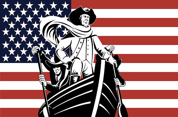 George Washington Print by Aloysius Patrimonio