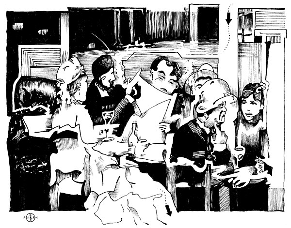 Gervex Paris Cafe Print by Gary Peterson