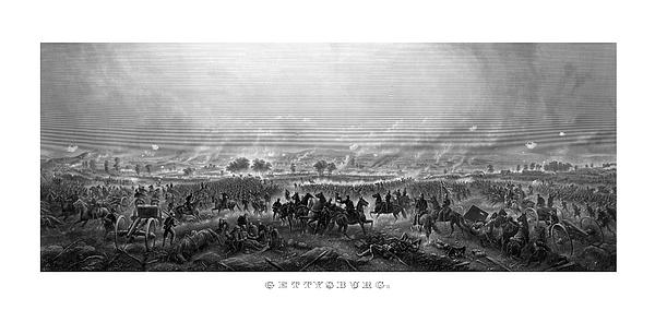 Gettysburg Print by War Is Hell Store