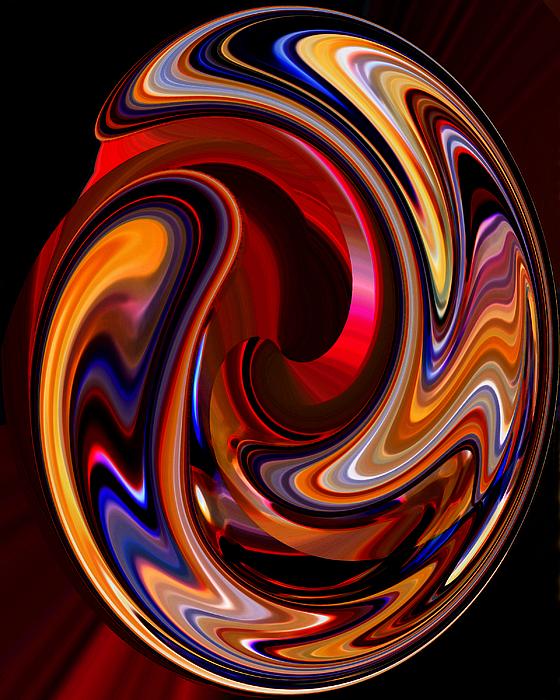 Glass Ornament 2 Print by Terril Heilman