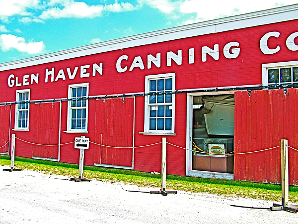 Glen Haven Canning Company For Apple And Cherry Canning In