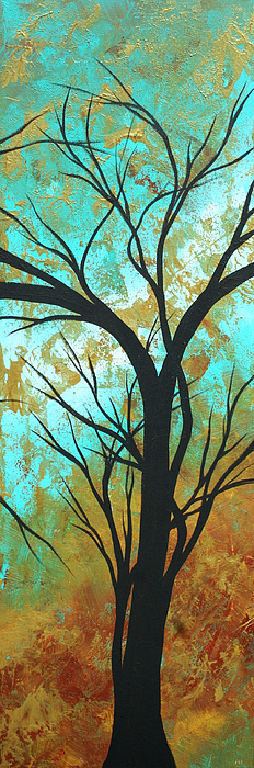 Golden Fascination 4 Print by Megan Duncanson