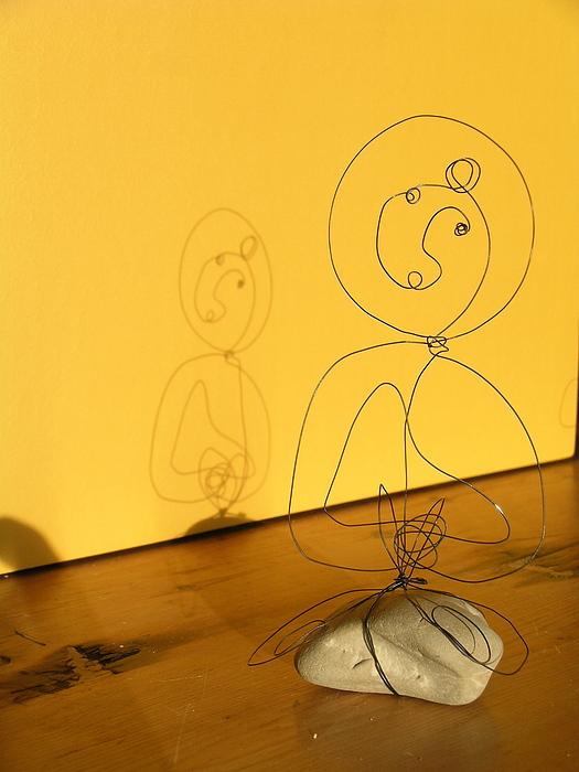 Golden Shadow Print by Live Wire Spirit