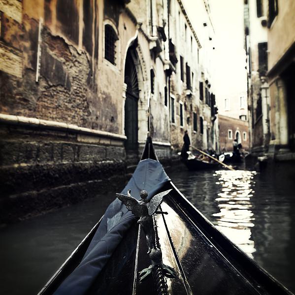 gondola - Venice Print by Joana Kruse