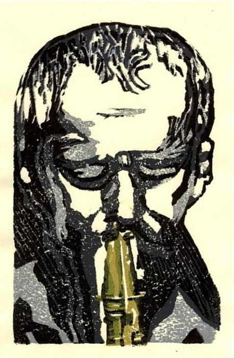 Good Sax Print by John Brisson