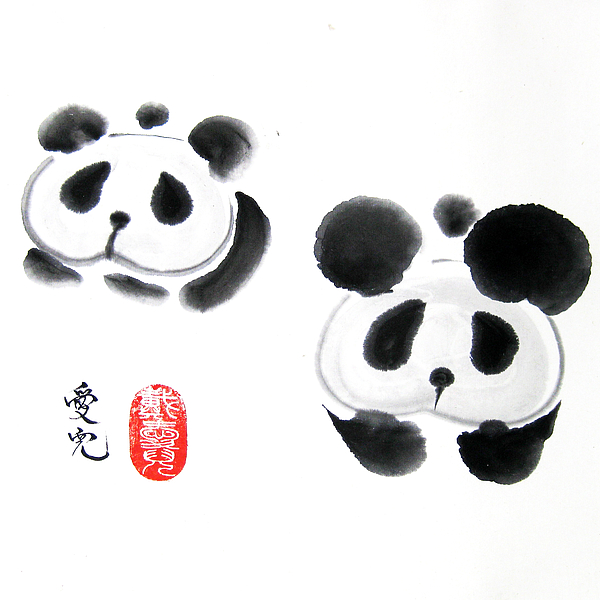 Good Things Come In Pairs Print by Oiyee  At Oystudio