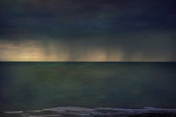 Gower Storm Print by Sue Fulton