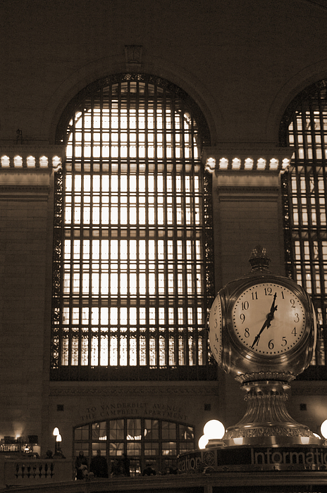 Grand Central Station Print by Henri Irizarri