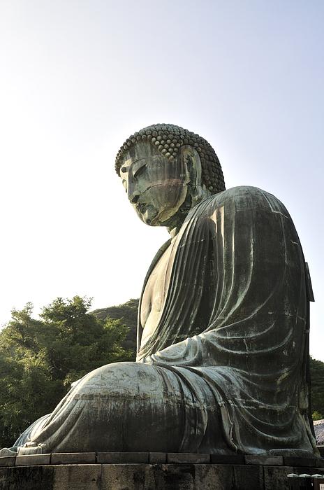 Great Buddha Of Kamakura Print by Andy Smy