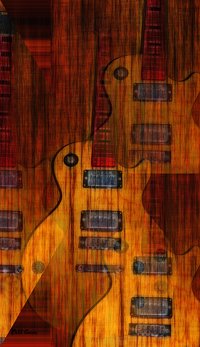 Guitar Army Print by Bill Cannon