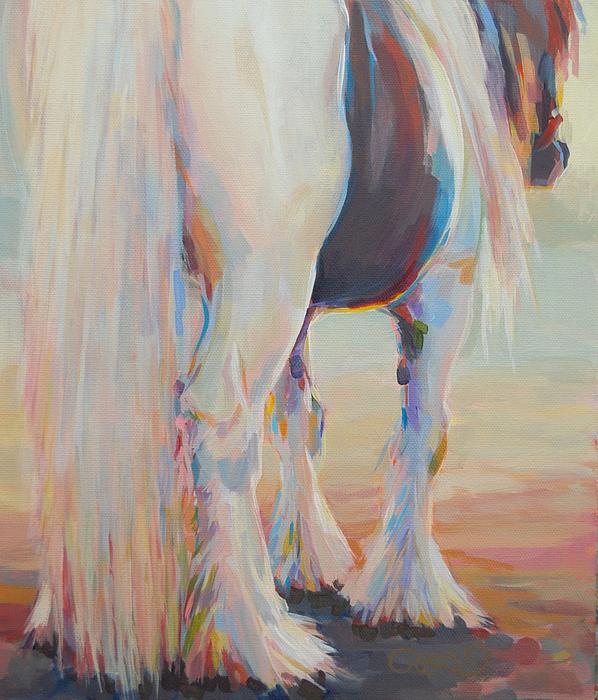 Gypsy Falls Print by Kimberly Santini