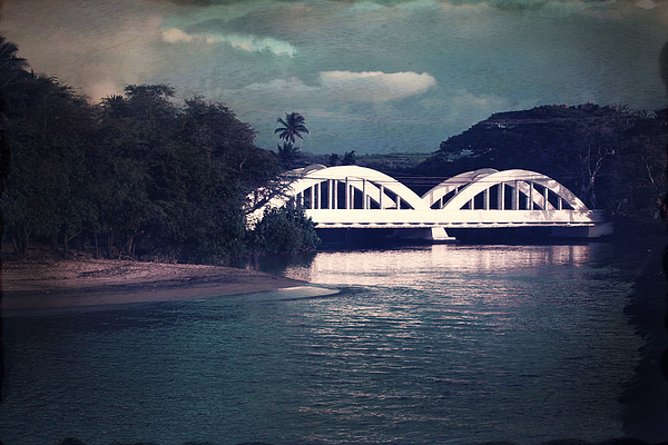 Haleiwa Bridge Print by Paul Topp