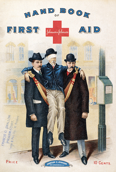 Handbook: First Aid Print by Granger