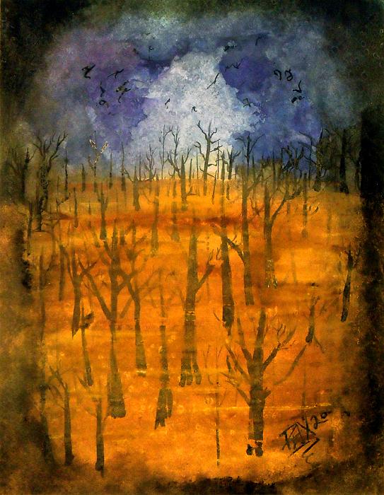 Haze Print by Jason Pliler