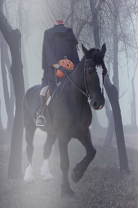 Headless Horseman Print by Christine Till