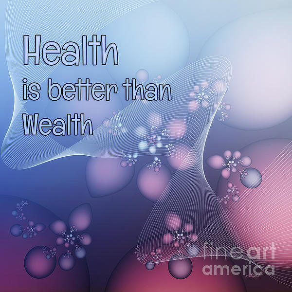 essay about health is better than wealth