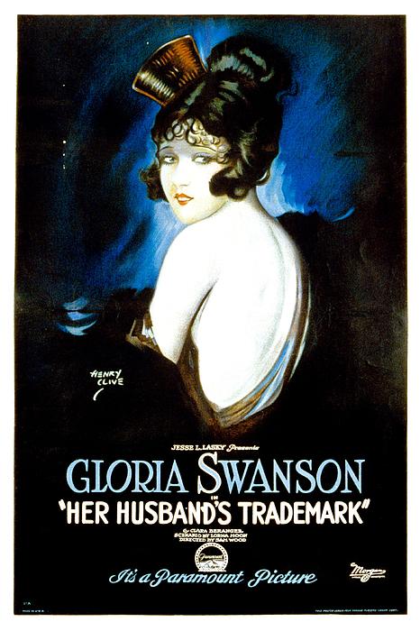 Her Husbands Trademark, Gloria Swanson Print by Everett