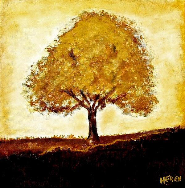 His Tree Print by Marsha Heiken