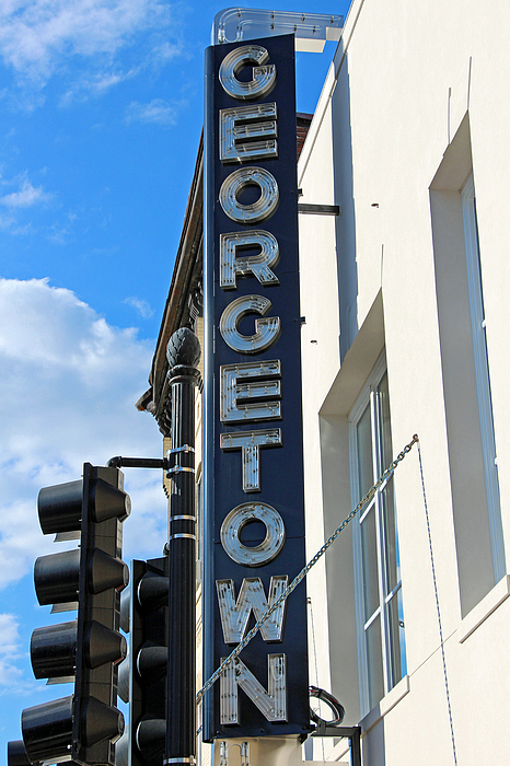 Historic georgetown movie theater sign by cora wandel for Georgetown movie theater