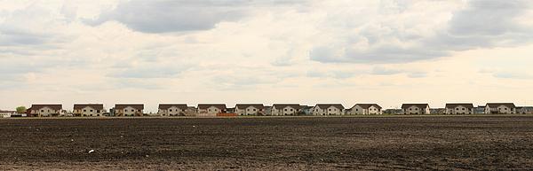 Homes On The Prairie Print by Steve Augustin