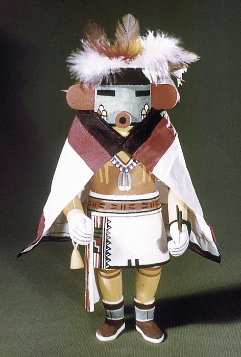 Hopi Kachina Doll Print by Granger